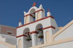 santorini steeple Fotografia Royalty Free
