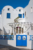 Santorini streets Stock Photo