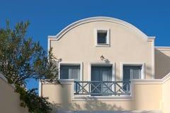 Santorini streets Stock Images