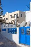Santorini streets Stock Image