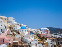 Santorini summer Royalty Free Stock Images