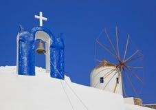 Santorini symbols, Greece Stock Photos