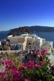 Santorini-Szene, Griechenland Stockbilder