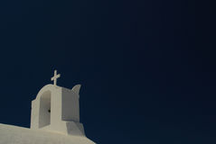 Santorini típico Imagem de Stock Royalty Free