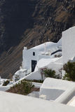 Santorini with traditional house Royalty Free Stock Photography