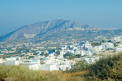 Santorini traditional town Stock Photography