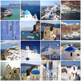 Santorini travel photos Royalty Free Stock Images