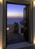 Santorini twilight Royalty Free Stock Photos