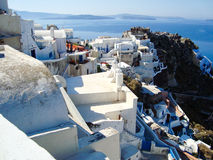 Santorini typical view Royalty Free Stock Photography