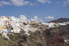 Santorini view Stock Photo