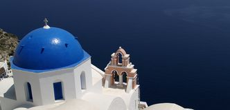 Santorini view Royalty Free Stock Photo