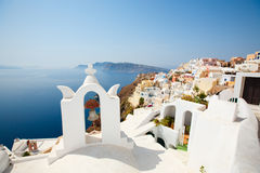 Santorini view Stock Image