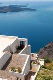 Santorini view Stock Images