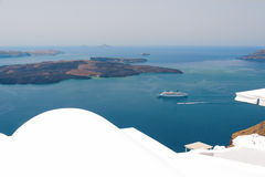 Santorini view Royalty Free Stock Image