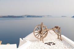 Santorini view Stock Photography