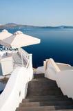 Santorini view Stock Image