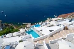 Santorini view Royalty Free Stock Photography