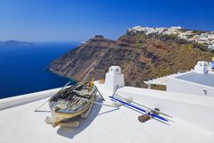 Santorini View - Greece Stock Photos