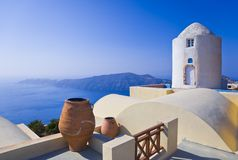 Santorini View - Greece royalty free stock image