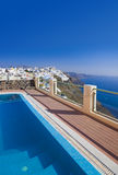 Santorini view - Greece Stock Images