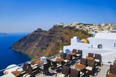 Santorini View - Greece Stock Image
