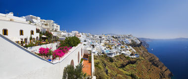 Santorini View - Greece Royalty Free Stock Images