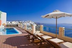 Santorini view - Greece Royalty Free Stock Photo