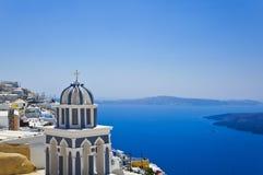 Santorini View - Greece Stock Image