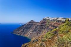 Santorini View - Greece Royalty Free Stock Image
