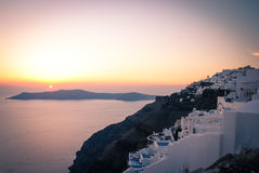 Santorini, view from Imerovigli Royalty Free Stock Photography