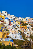 Santorini view (Oia), Greece Stock Photos