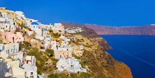 Santorini view (Oia), Greece Stock Image
