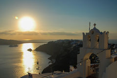Santorini, view from Oia Royalty Free Stock Photography