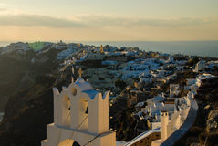 Santorini, view from Oia Stock Image