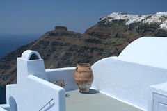 Santorini views Stock Image