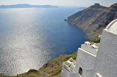 Santorini views Royalty Free Stock Photo