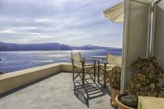 Santorini, visión Fotos de archivo libres de regalías