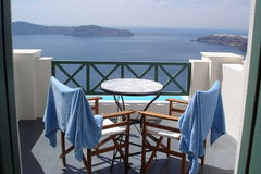 Santorini vista Royalty Free Stock Photography