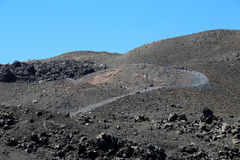 The Santorini Volcano Royalty Free Stock Images