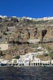 The Santorini Volcano Royalty Free Stock Image