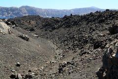 The Santorini Volcano Royalty Free Stock Photo