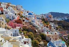 Santorini w Grecja obrazy stock