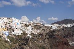 Santorini widok Zdjęcie Stock