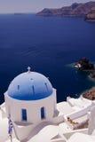 santorini widok Fotografia Royalty Free