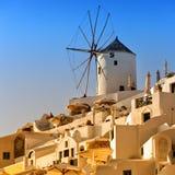 Santorini Windmill 05 Royalty Free Stock Photos