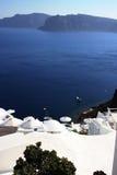 Santorini wyspa Zdjęcia Royalty Free