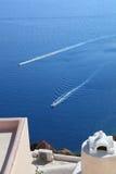 Santorini wyspa w Grecja Obraz Stock