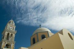 Santorini wyspy podróży sceneria i miejsce przeznaczenia Obraz Stock