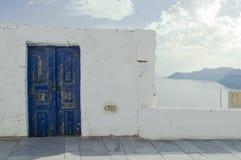 Santorini wyspy podróży sceneria i miejsce przeznaczenia Obrazy Stock