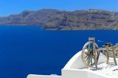 Santoriniarchitectuur, Oia Royalty-vrije Stock Foto's